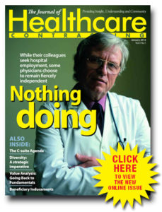 January 2012 JHC Magazine Cover